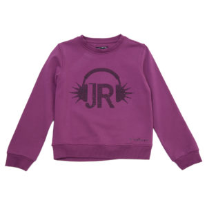 RICHMOND JR Felpa cuffie strass
