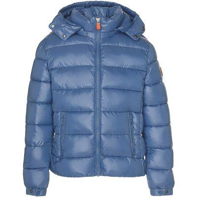 SAVE THE DUCK Piumino azzurro bambino