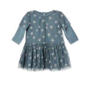 STELLA MCCARTNEY KIDS Vestito stelle neonata