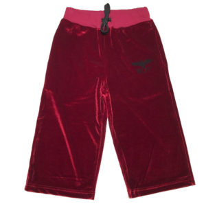 Pantalone ciniglia bambina boy london