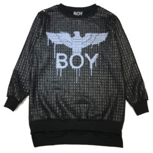 Vestito nero bambina boy london