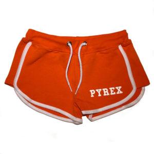 Shorts arancione pyrex bambina
