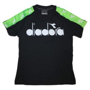 T-shirt bande fluo diadora bambino