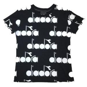 T-shirt loghi diadora bambino