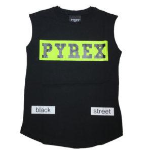 T-shirt smanicata pyrex bambino