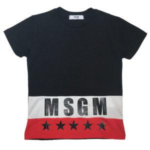 T-shirt stelle msgm kids