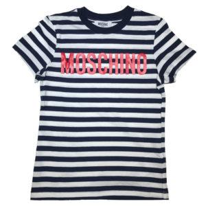 T-shirt rigata bambino moschino