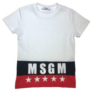 T-shirt stelle msgm bambino