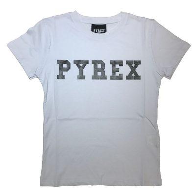 T-shirt bianca pyrex bambino