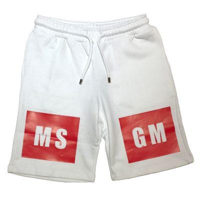 Bermuda bianco bambino msgm