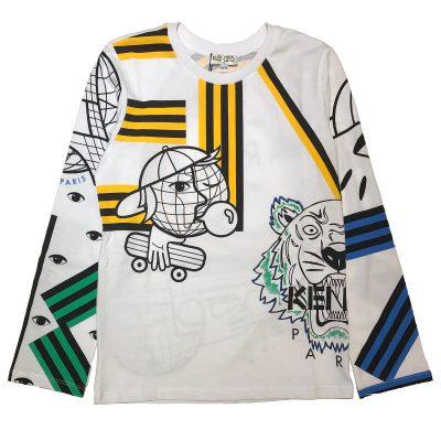 T-shirt kenzo bambino