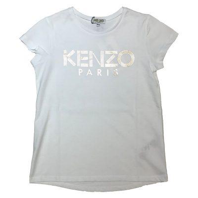 T-shirt logo kenzo bambina