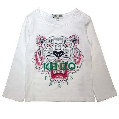 T-shirt tigre neonata kenzo