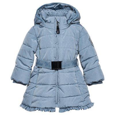 cappotto pois monnalisa neonata