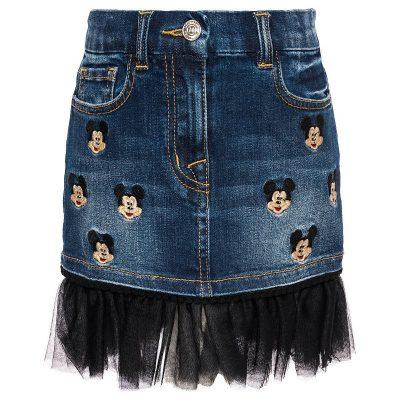 Gonna jeans topolino monnalisa