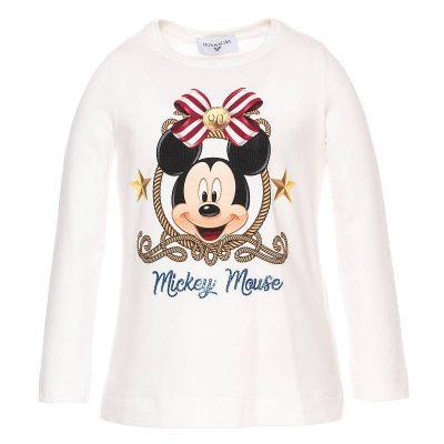 T-shirt topolino monnalisa