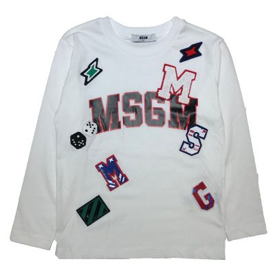 T-shirt toppe msgm bambino