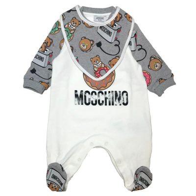 Tutina moschino neonato
