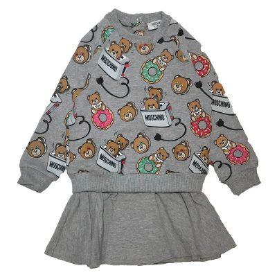 Vestito orsetti neonata moschino