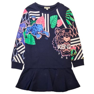 Vestito tigri bambina kenzo