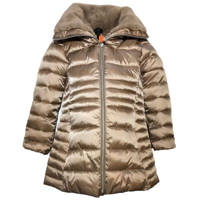 Cappotto beige save the duck bambina