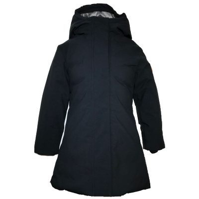Cappotto nero save the duck bambina