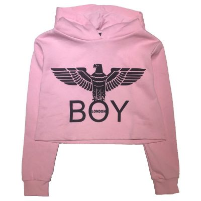 Felpa corta boy london bambina