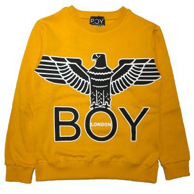Felpa gialla boy london bambino