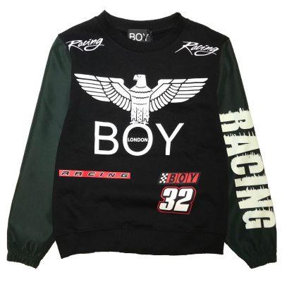 Felpa racing boy london bambino