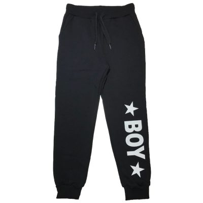 Pantalone nero boy london bambino