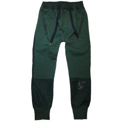 Pantalone verde boy london bambino