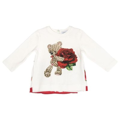 T-shirt orsetto neonata monnalisa