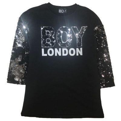 Vestito paillettato boy london bambina