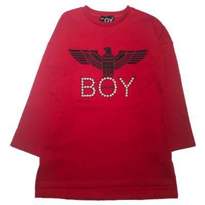 Vestito rosso boy london bambina