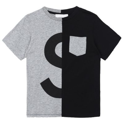 T-shirt logo stella mccartney bambino