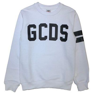 Felpa bianca gcds mini