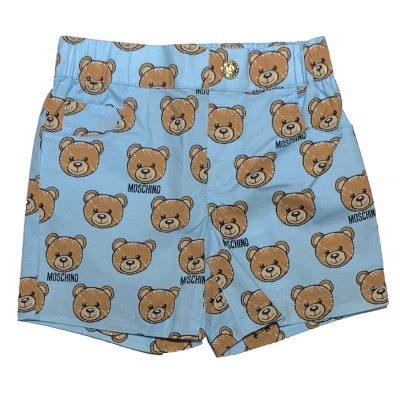 Pantaloncino orsetti neonato moschino
