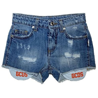 Shorts jeans gcds bambina