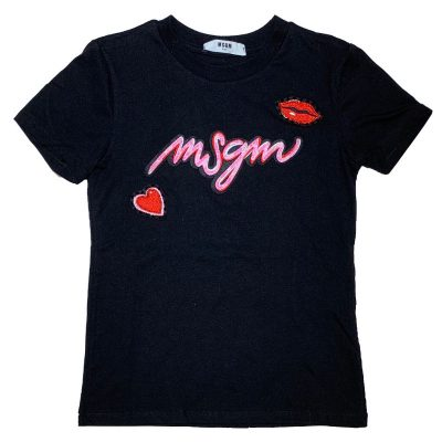 T-shirt bacio msgm bambina