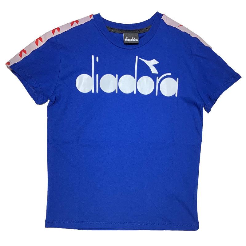 DIADORA T shirt Azzurra