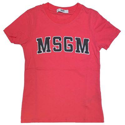 T-shirt fucsia msgm bambina