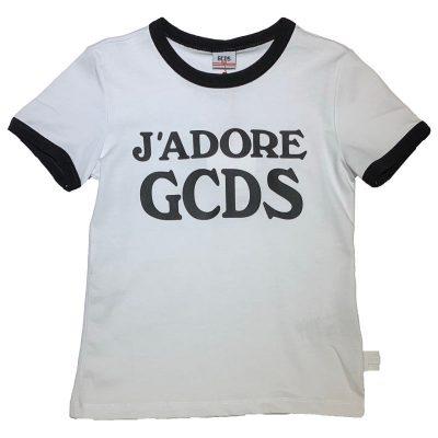 T-shirt gcds bambina