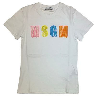 T-shirt perline msgm bambina