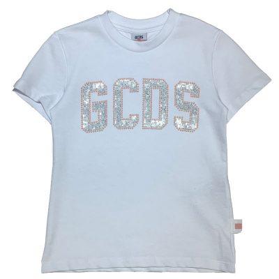 T-shirt strass gcds bambina