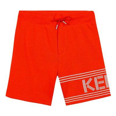 Bermuda arancione kenzo bambino
