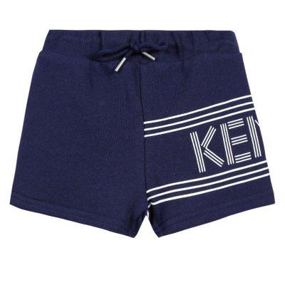 Short blu kenzo neonato