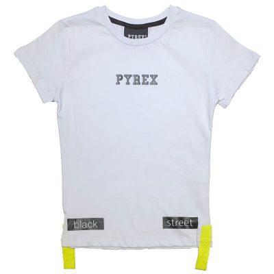 T-shirt bianca pyrex kids ae165b667033