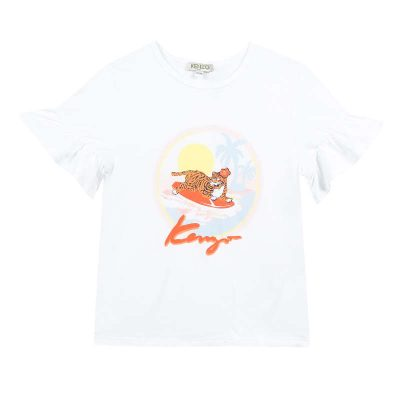 T-shirt giungla kenzo bambina