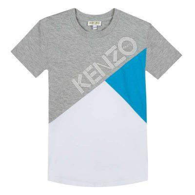 T-shirt logo kenzo bambino