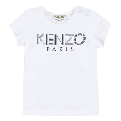 T-shirt logo kenzo neonato